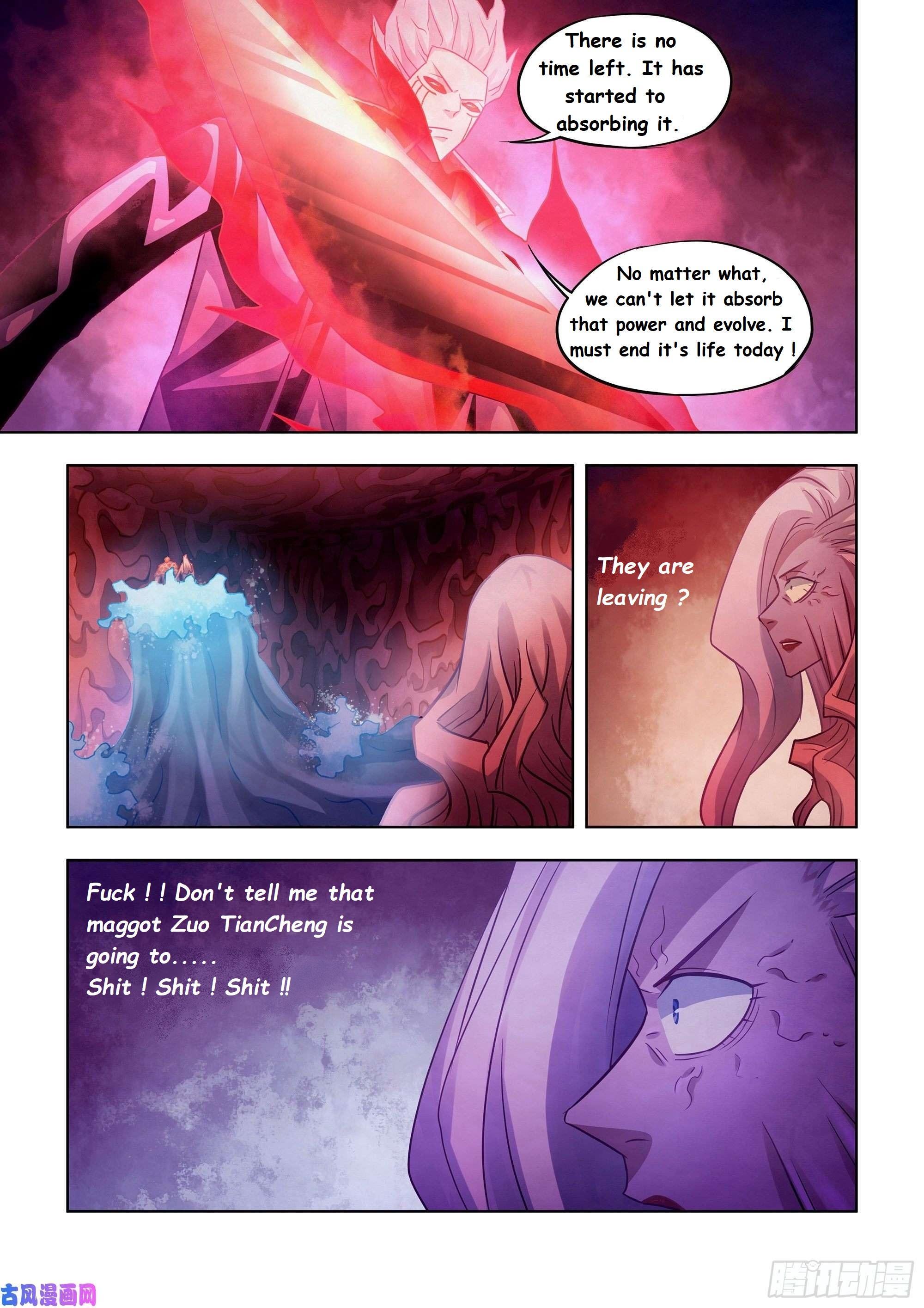Moshi Fanren Chapter 374 page 11 - Mangakakalot
