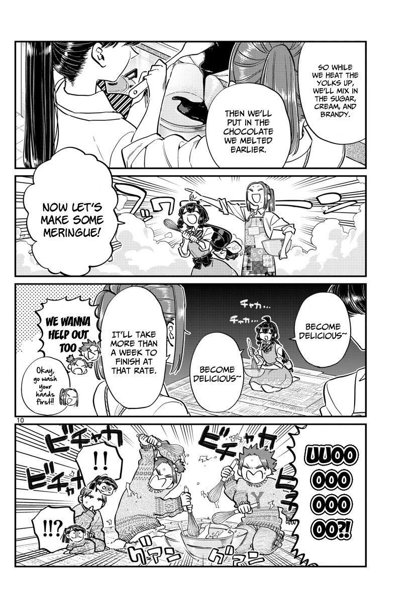 Komi-San Wa Komyushou Desu Vol.9 Chapter 116: Preparing For Valentines page 10 - Mangakakalot