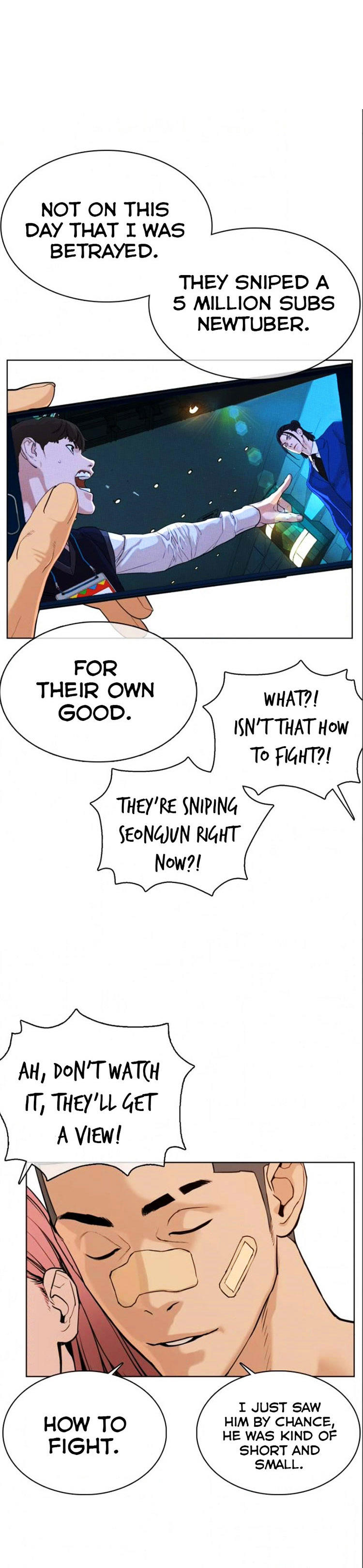 How To Fight Chapter 48: Right Now, I'm The One Who's Threatening page 7 - Mangakakalots.com