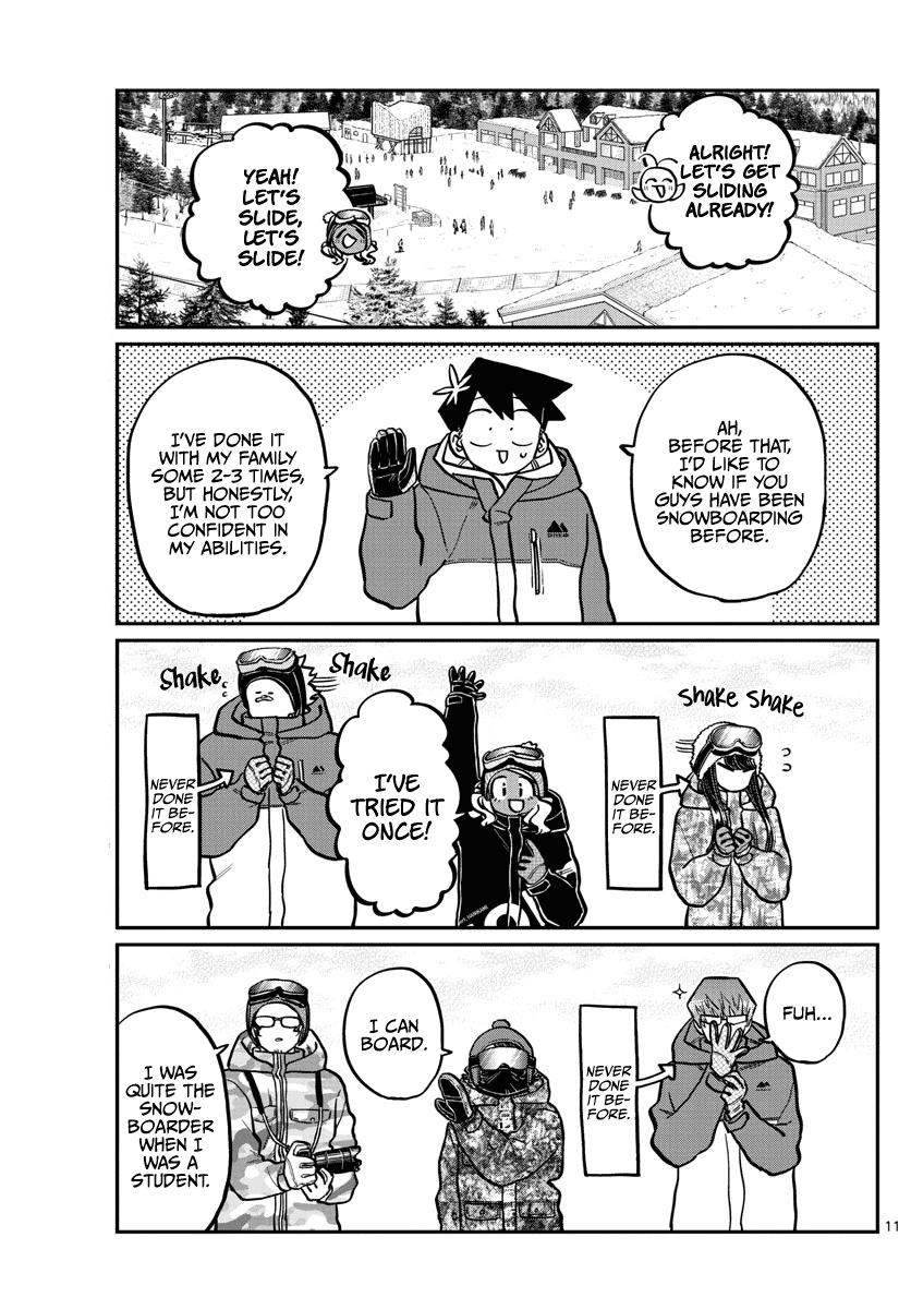 Komi-San Wa Komyushou Desu Chapter 261: Snowboarding page 11 - Mangakakalot