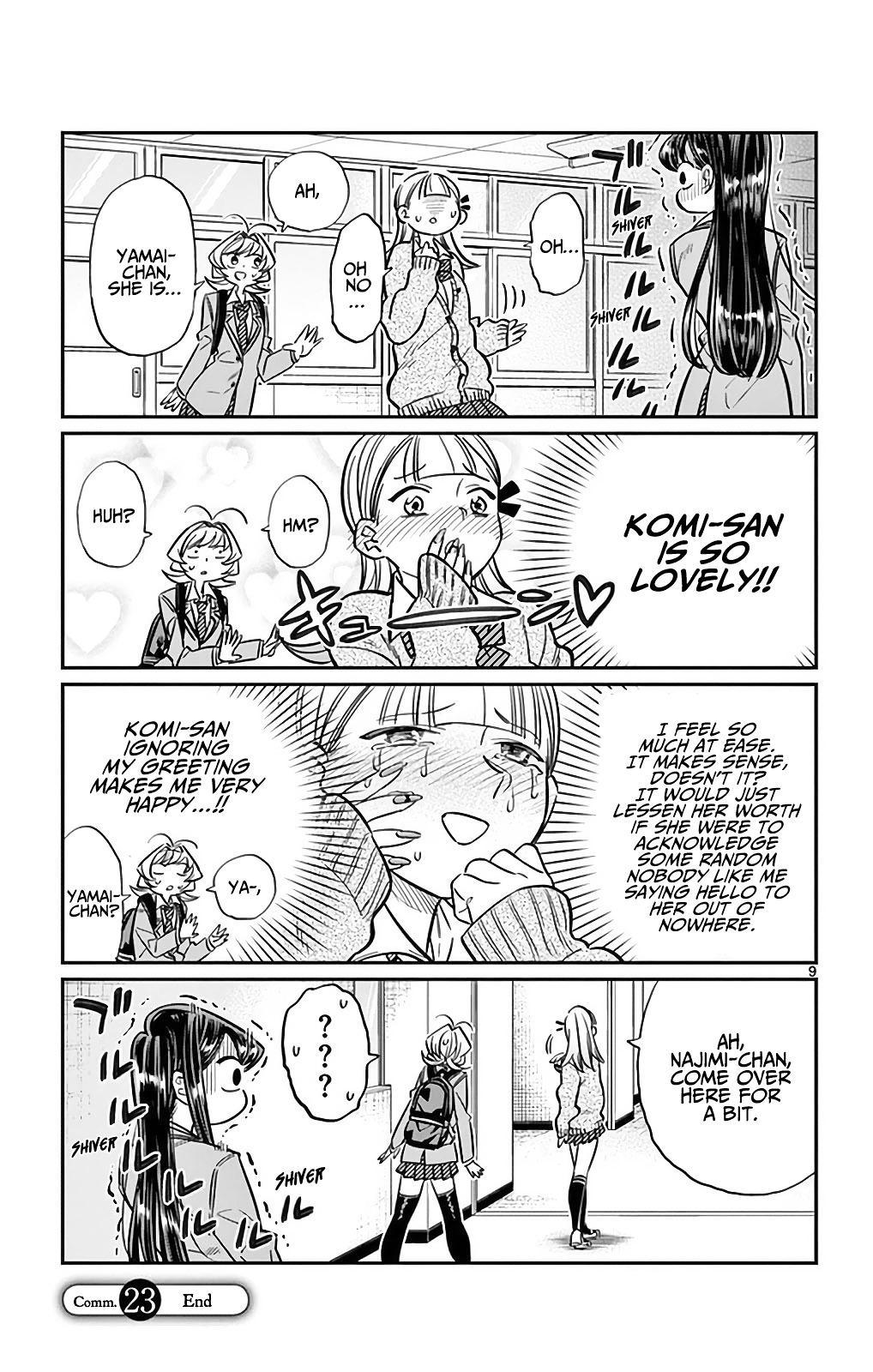 Komi-San Wa Komyushou Desu Vol.2 Chapter 23: I'm Ren! page 9 - Mangakakalot