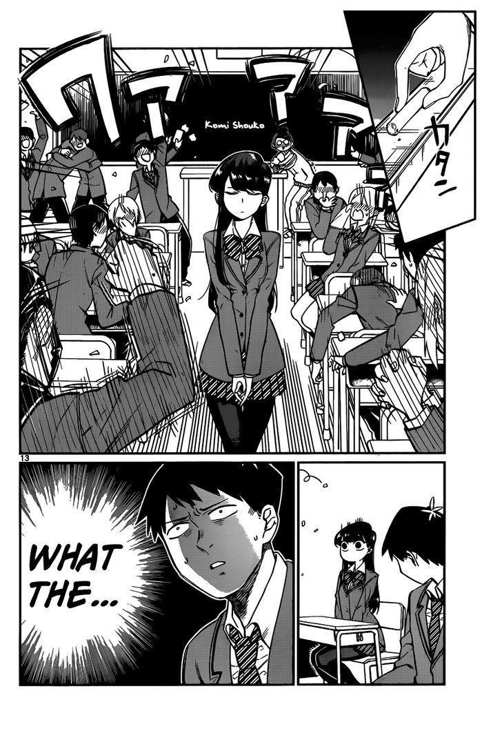 Komi-San Wa Komyushou Desu Vol.1 Chapter 2: Peaceful page 5 - Mangakakalot