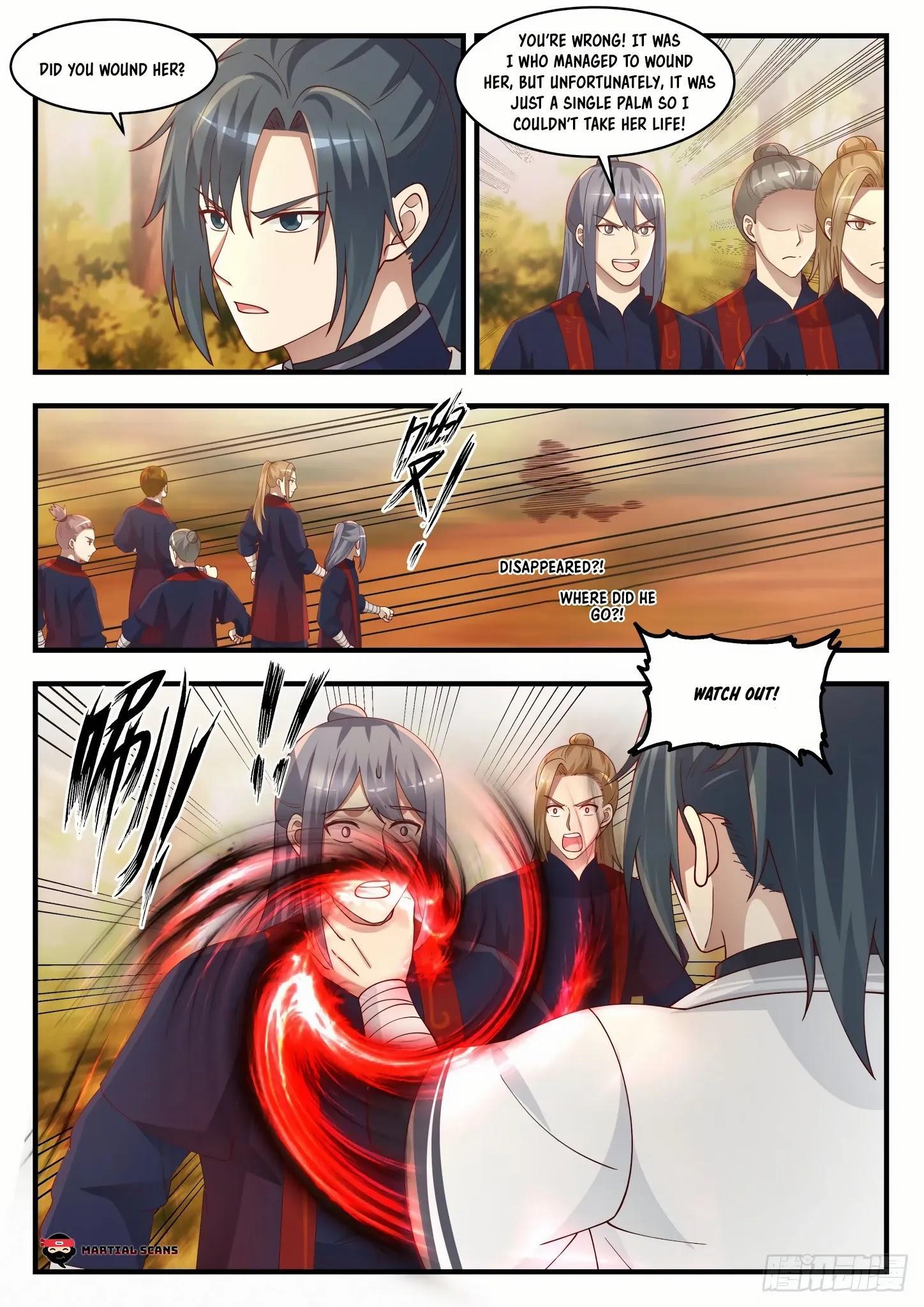 Martial Peak Chapter 1386: Kill Him page 3 - Mangakakalots.com