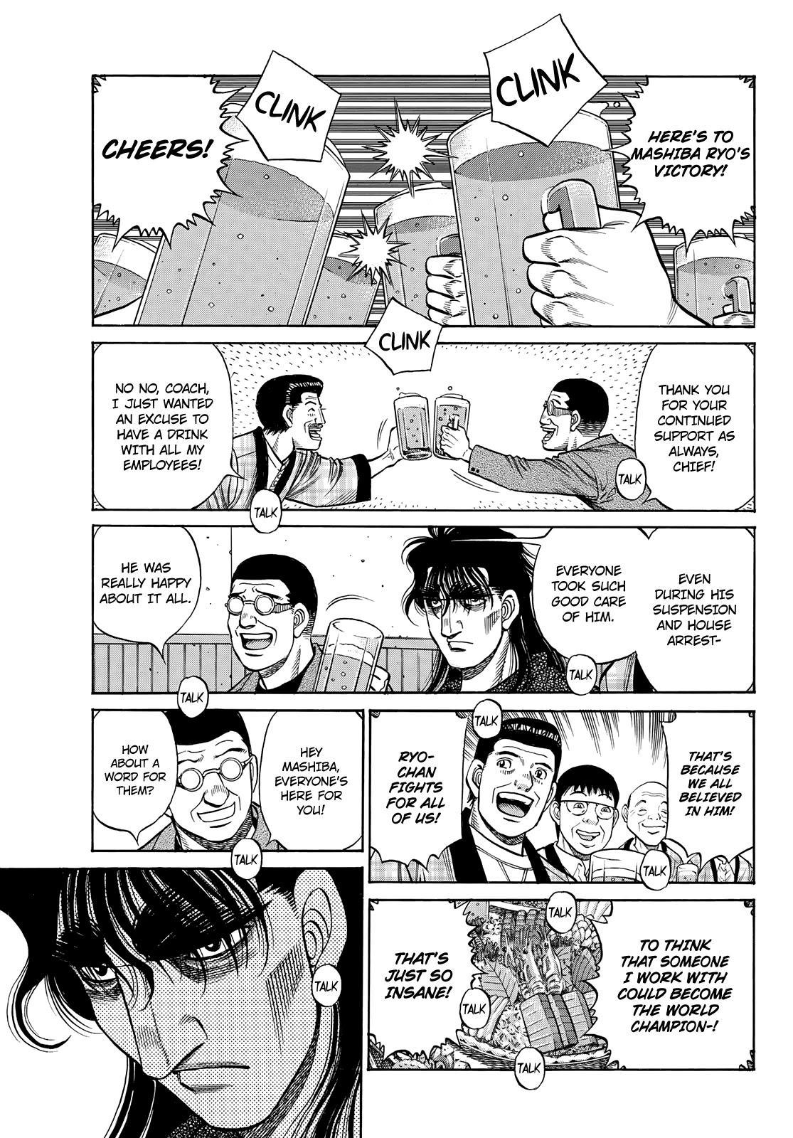 Hajime No Ippo Chapter 1352: Encouragement Party page 3 - Mangakakalot