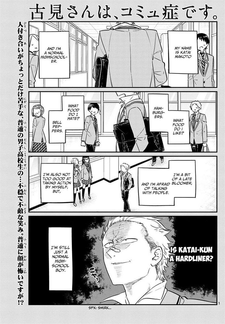 Komi-San Wa Komyushou Desu Vol.6 Chapter 76: A Delinquent page 1 - Mangakakalot
