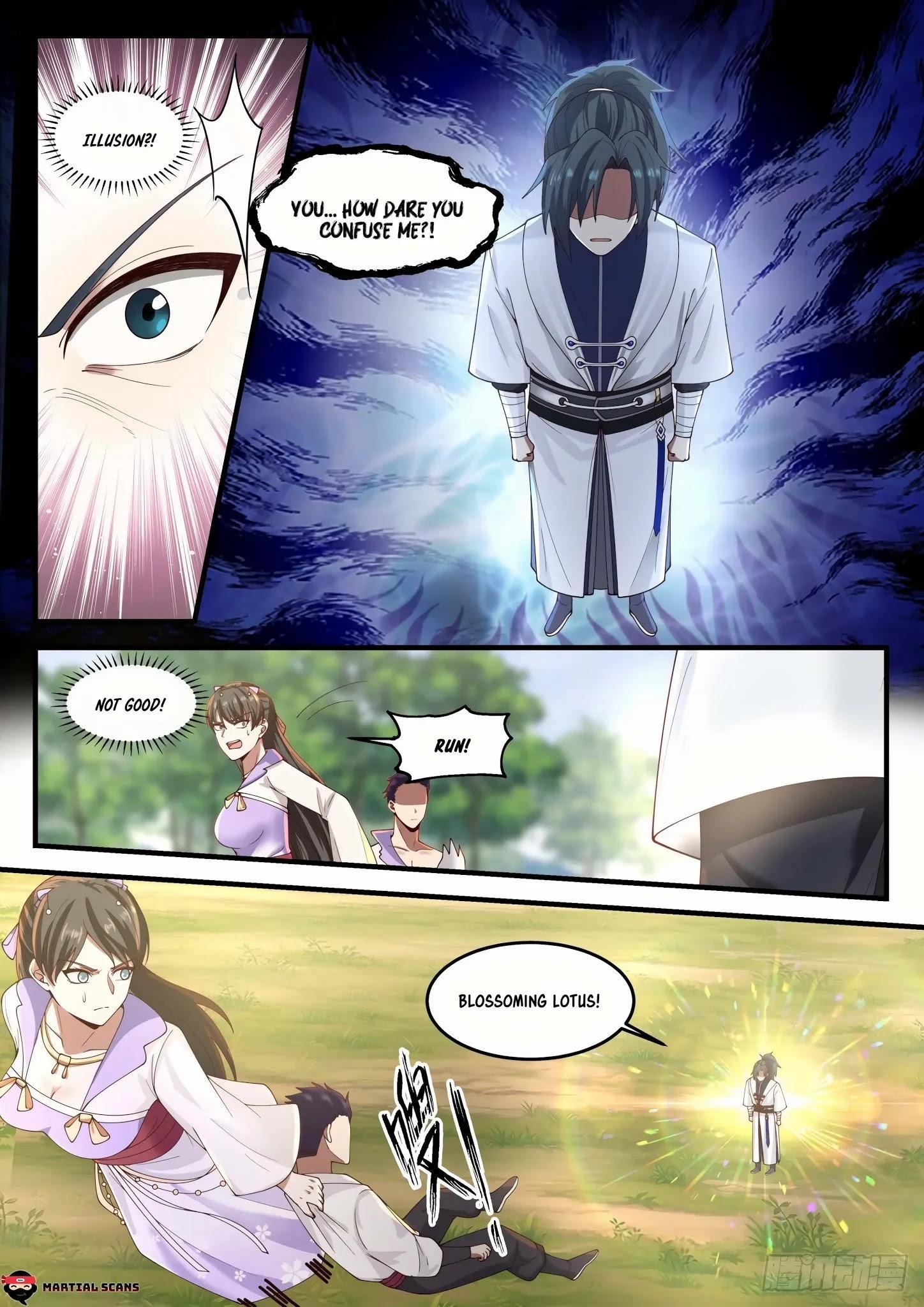 Martial Peak Chapter 1188: Blossoming Lotus page 9 - Mangakakalots.com