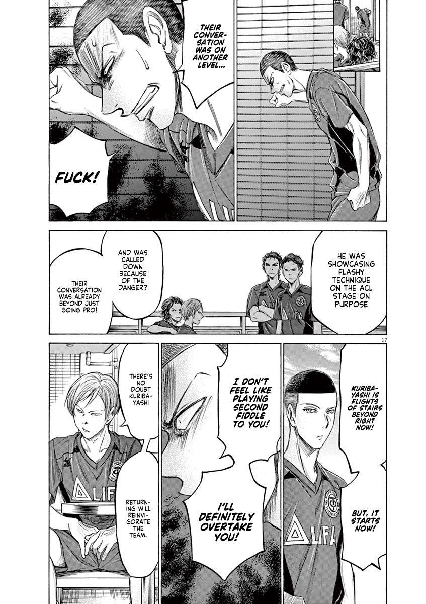Ao Ashi Vol.12 Chapter 118: Team A Gathering page 18 - Mangakakalots.com