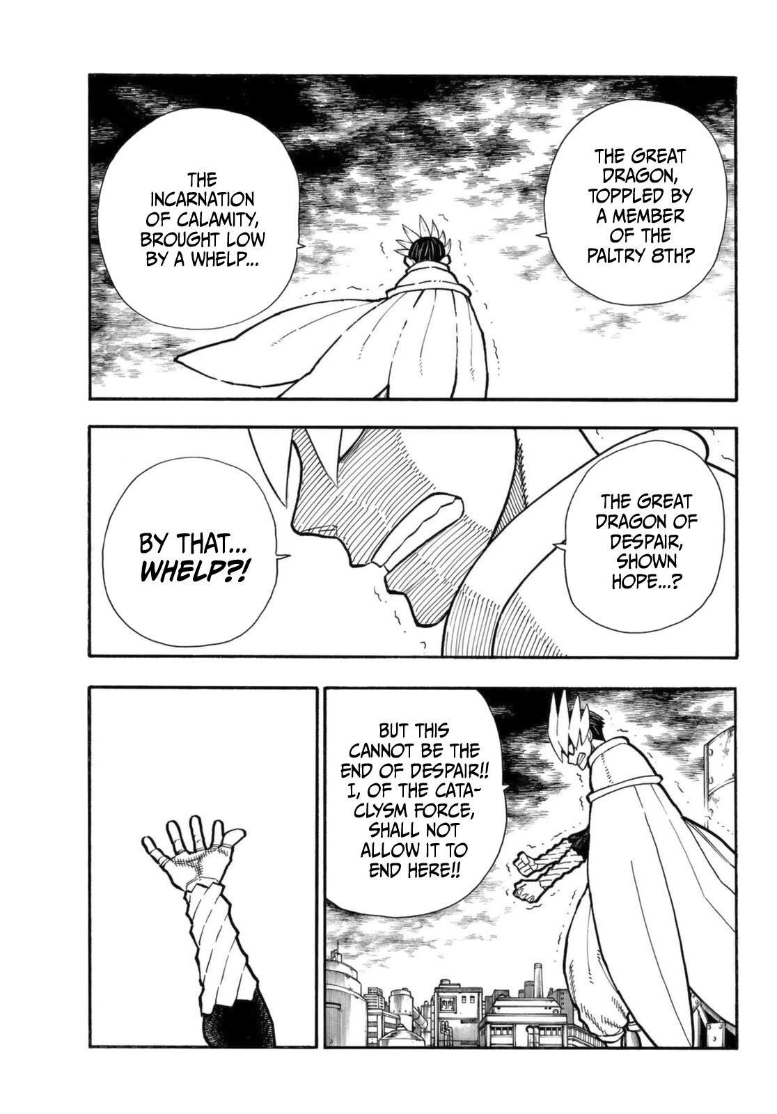 Enen No Shouboutai Chapter 273: He Is Risen page 4 - Mangakakalots.com
