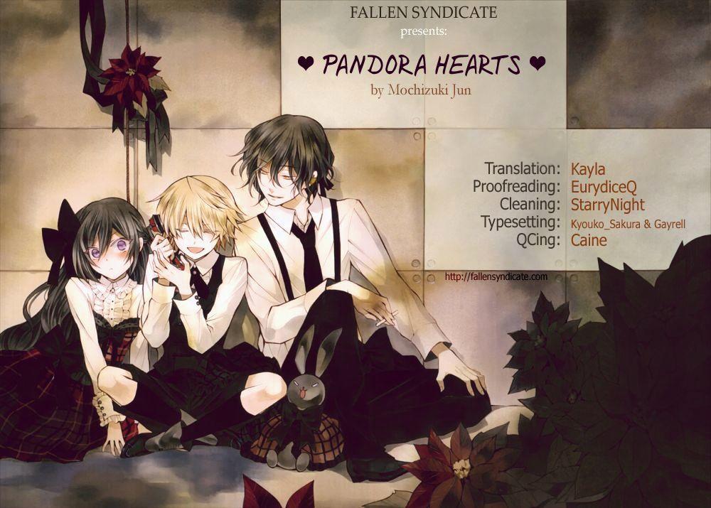 Pandora Hearts Chapter 104 page 1