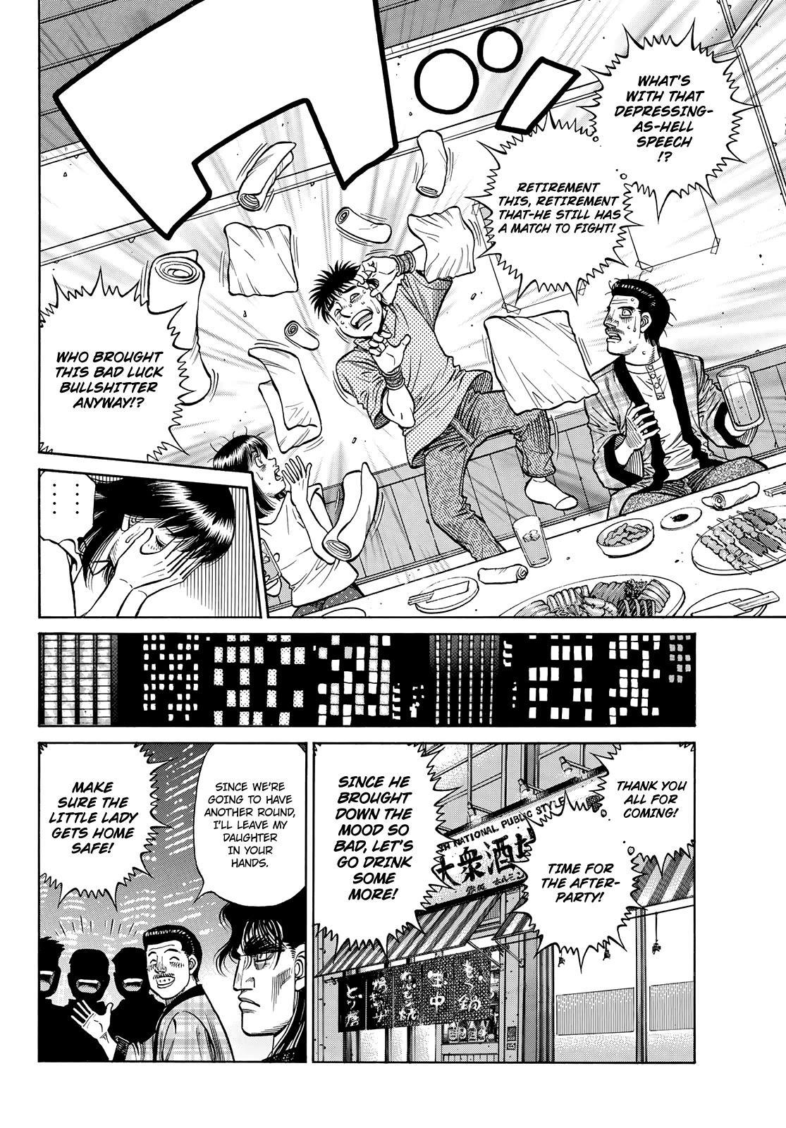 Hajime No Ippo Chapter 1352: Encouragement Party page 10 - Mangakakalot