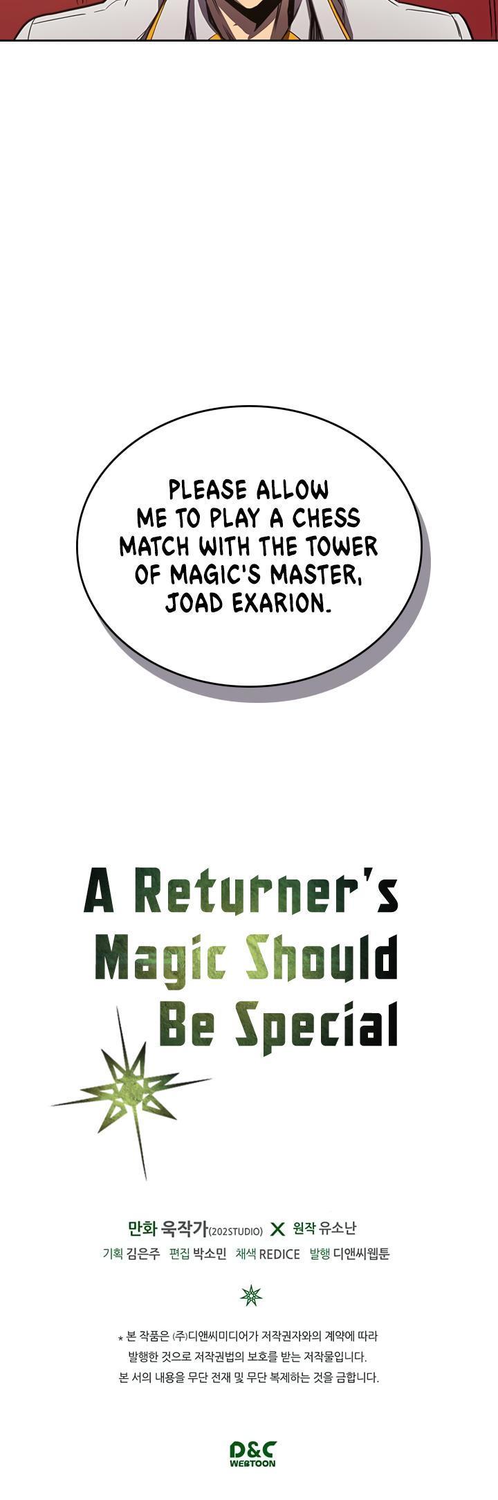 A Returner's Magic Should Be Special Chapter 43 page 33 - Mangakakalots.com