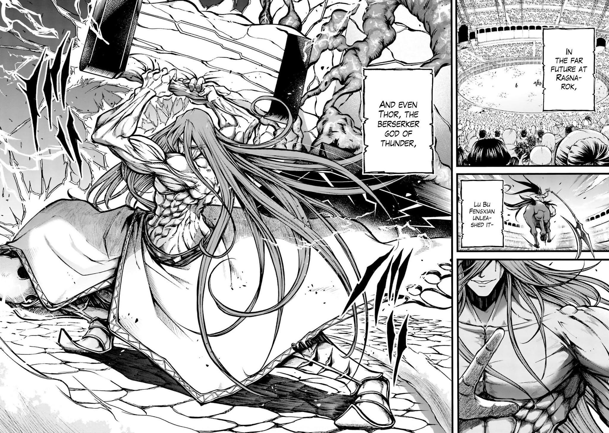 Shuumatsu No Valkyrie: The Legend Of Lu Bu Fengxian Chapter 8 page 21 - Mangakakalots.com