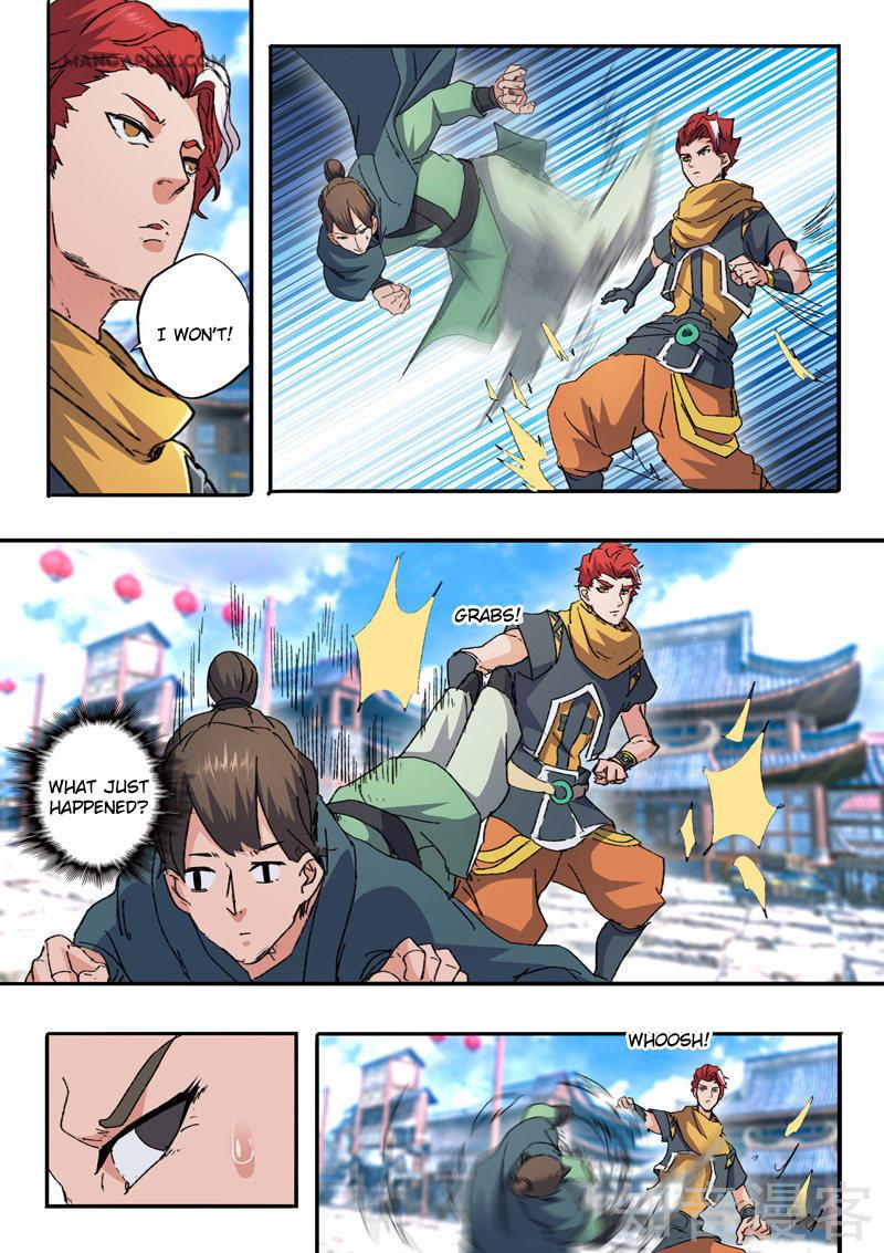 Martial Master Chapter 468: Let Go! page 8 - Mangakakalots.com