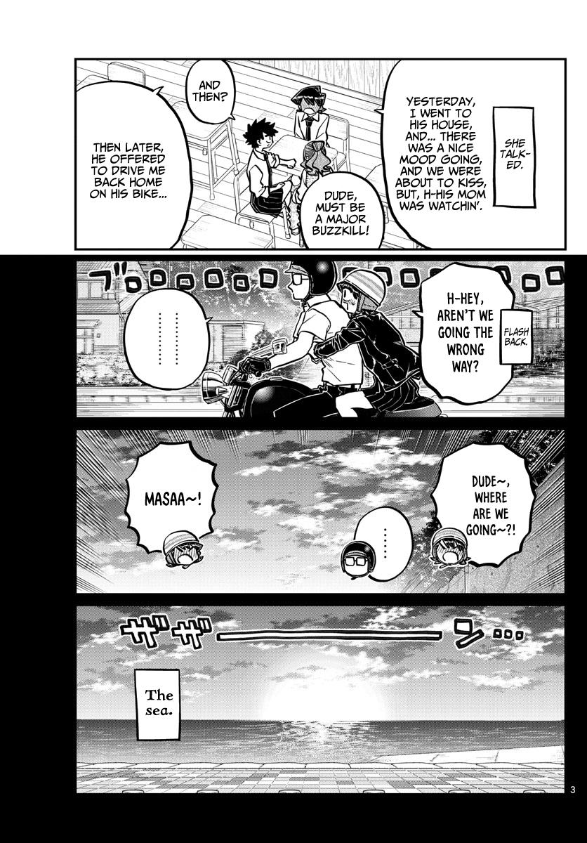 Komi-San Wa Komyushou Desu Chapter 243: Mom And Dad's Kiss Part 2 page 3 - Mangakakalot
