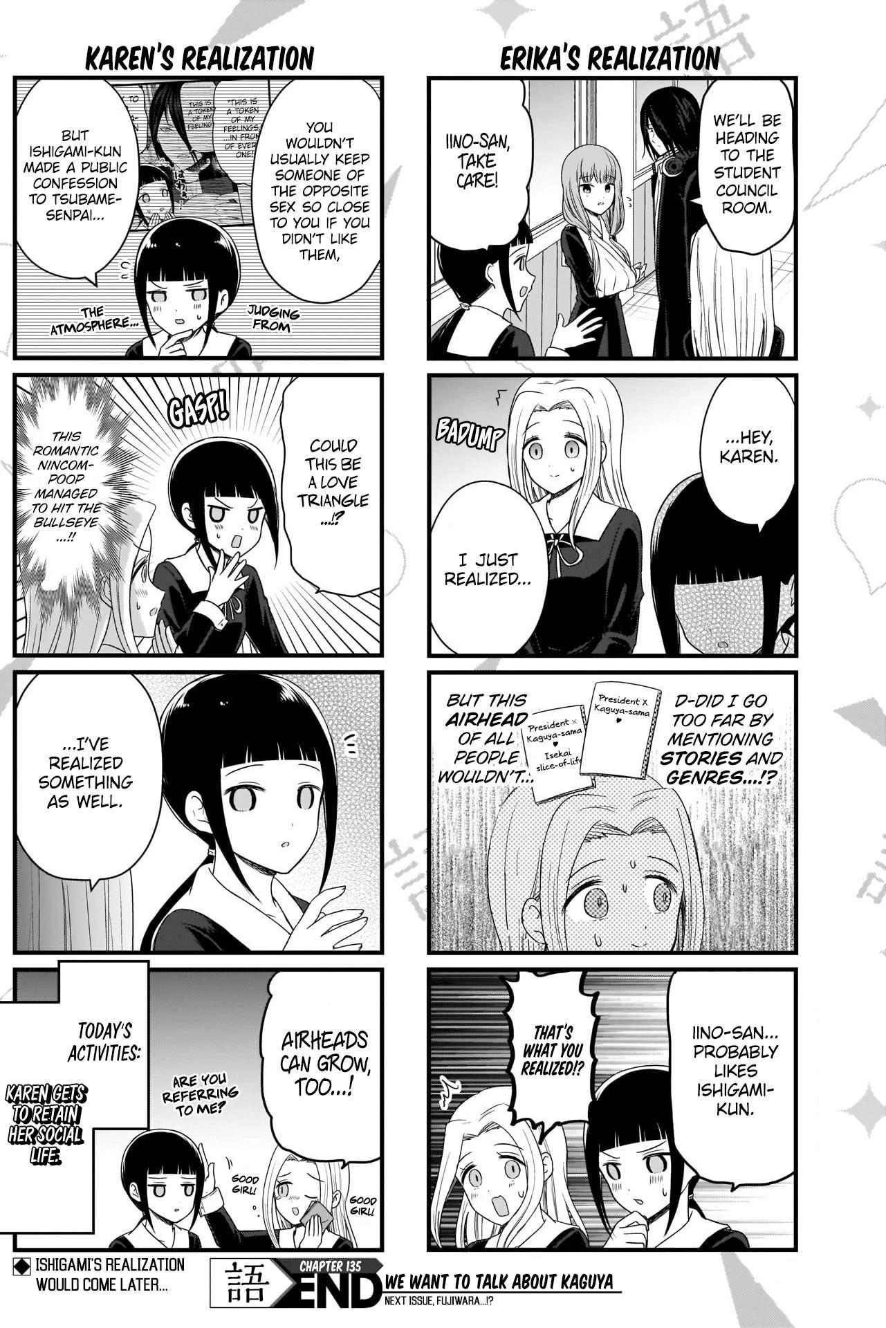 We Want To Talk About Kaguya Chapter 135 page 5 - Mangakakalots.com