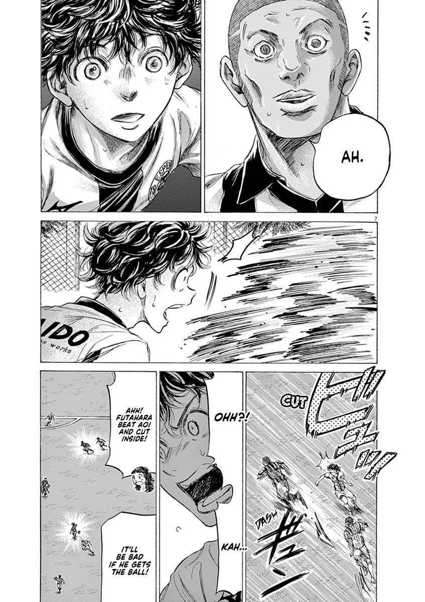 Ao Ashi Vol.18 Chapter 181: Funebashi's Fierce Attack page 8 - Mangakakalots.com