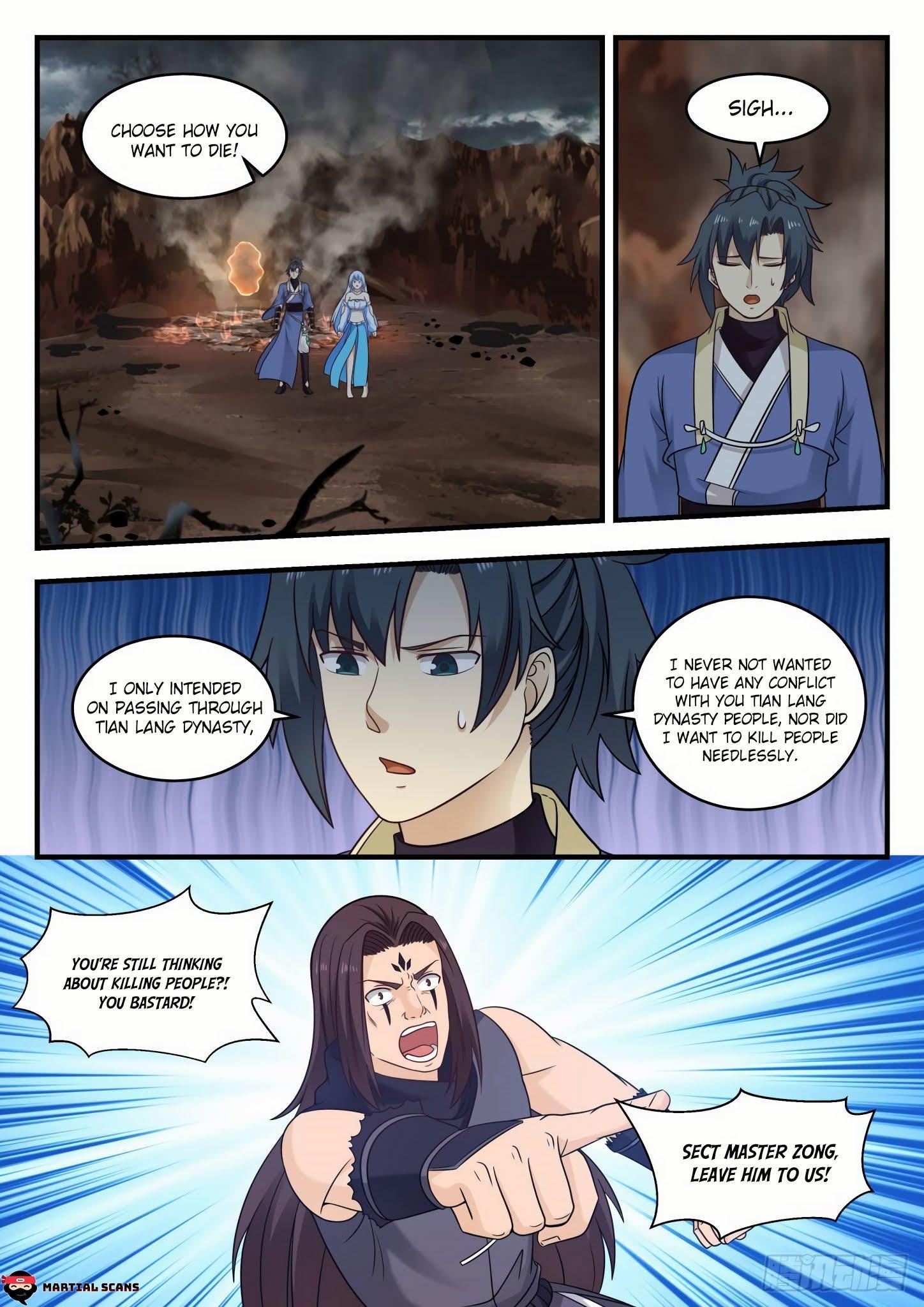 Martial Peak Chapter 585 - Tong Xuan Realm page 6 - Mangakakalots.com