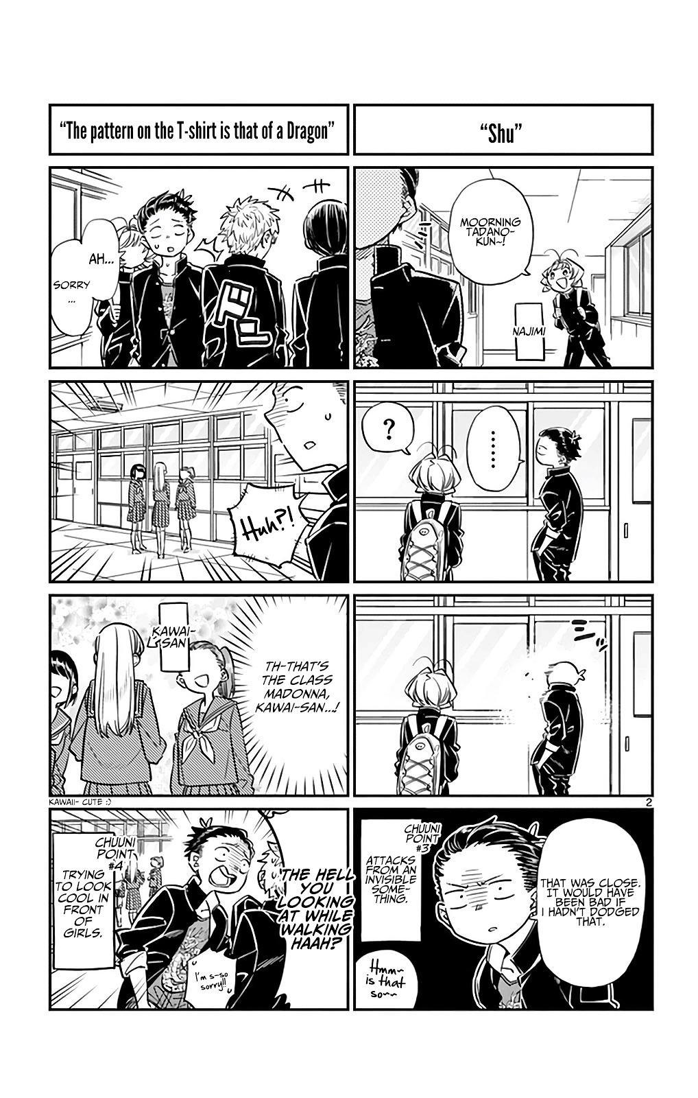 Komi-San Wa Komyushou Desu Vol.2 Chapter 32: Tadano-Kun's Junior High Days page 2 - Mangakakalot