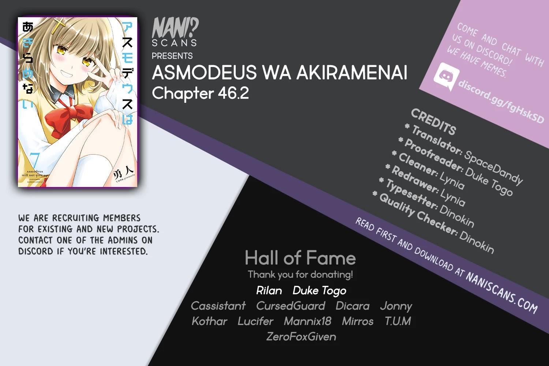 Asmodeus Wa Akiramenai Chapter 46.2: Is Your Order Yuri? page 1 - Mangakakalots.com