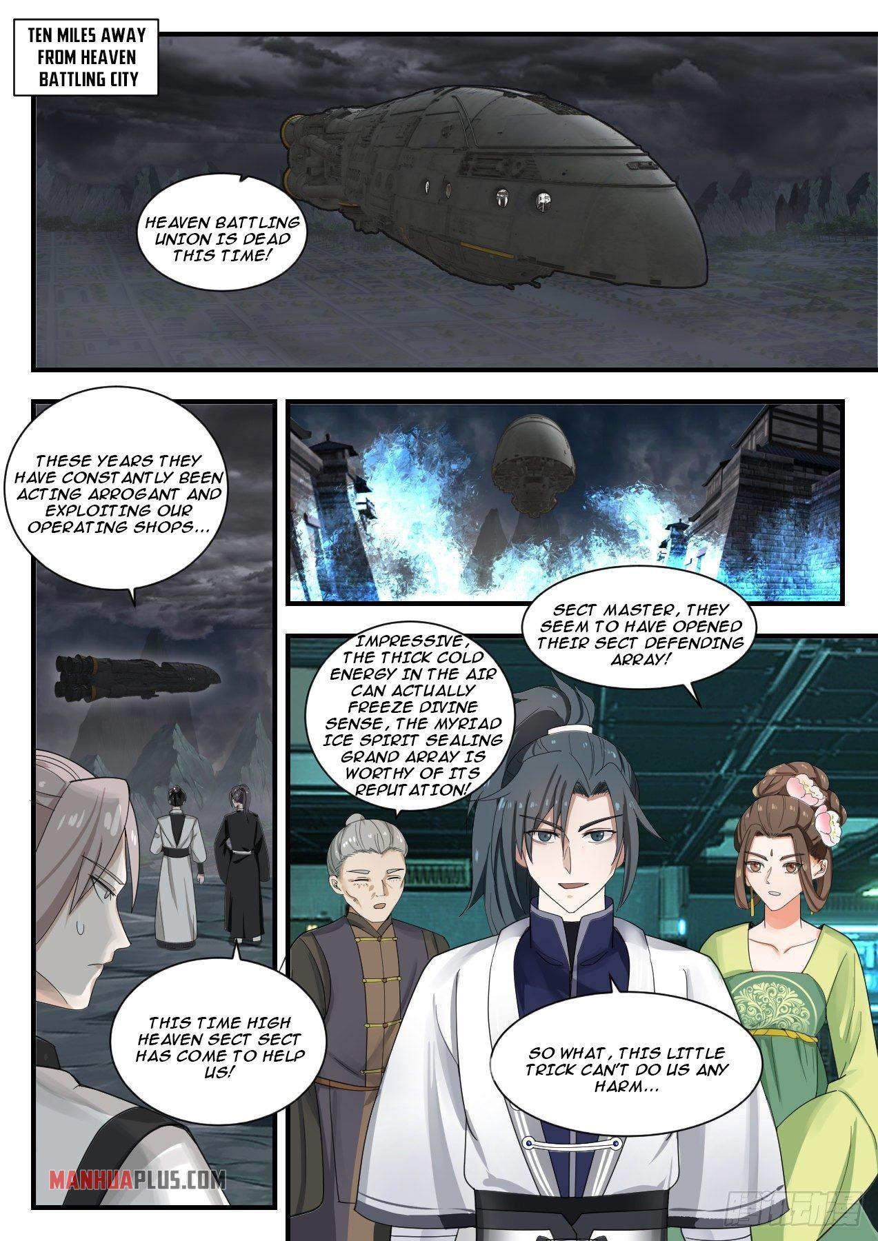 Martial Peak Chapter 1346 page 4 - Mangakakalots.com