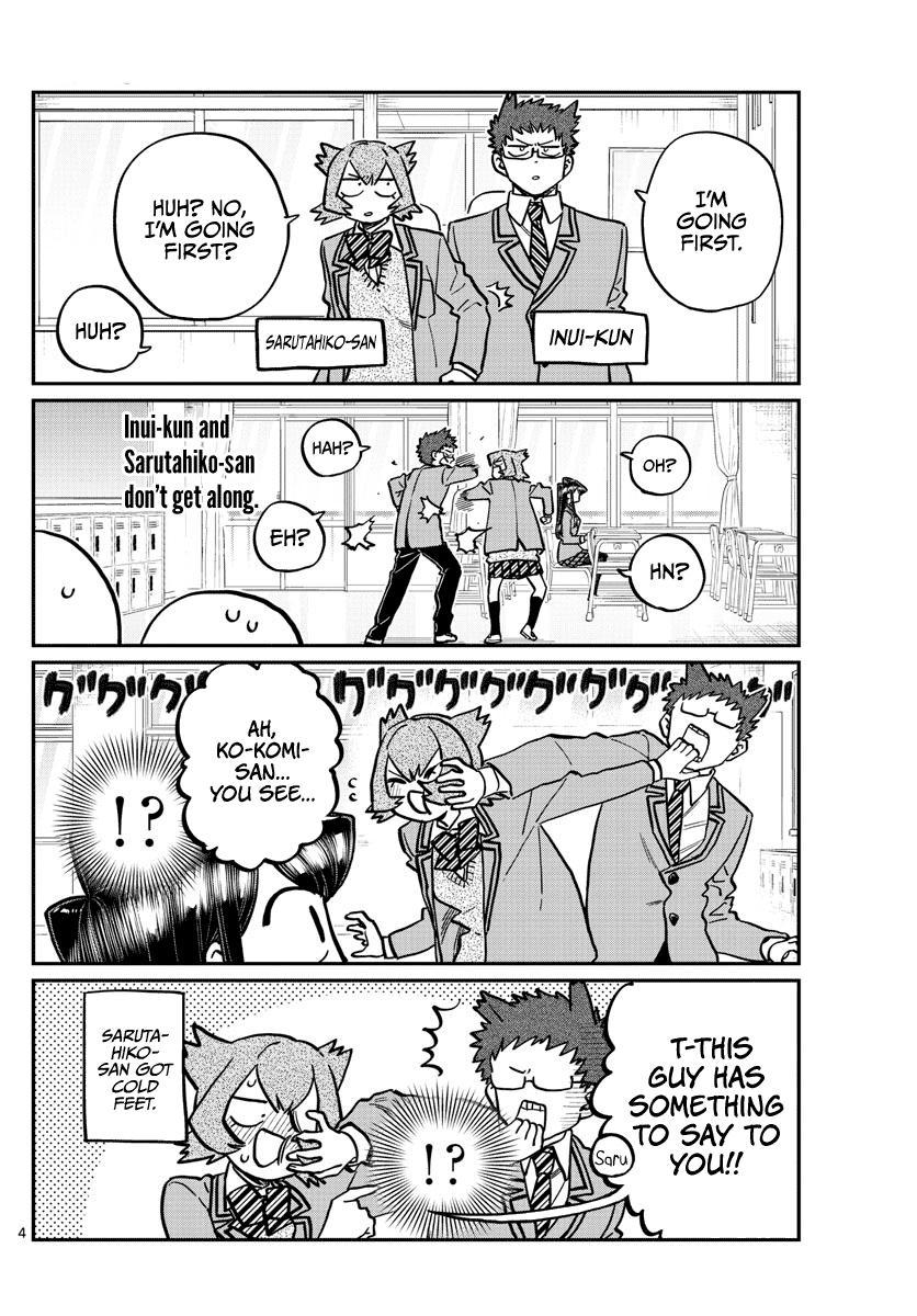 Komi-San Wa Komyushou Desu Chapter 258: Contact page 4 - Mangakakalot