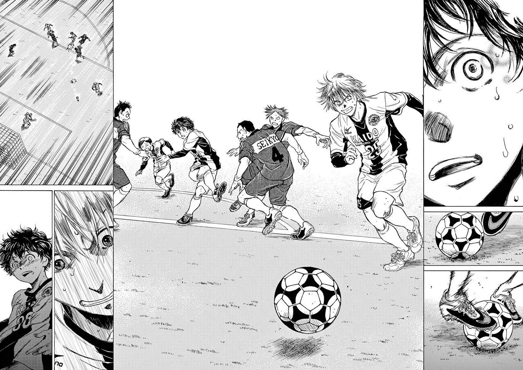 Ao Ashi Chapter 50: Eye To Eye page 15 - Mangakakalots.com