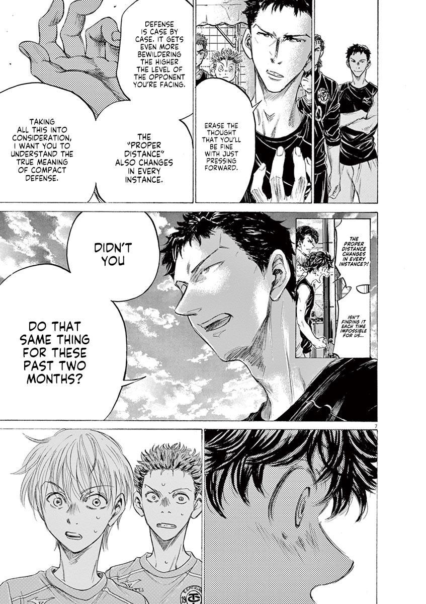 Ao Ashi Vol.16 Chapter 160: Surprising Point page 8 - Mangakakalots.com