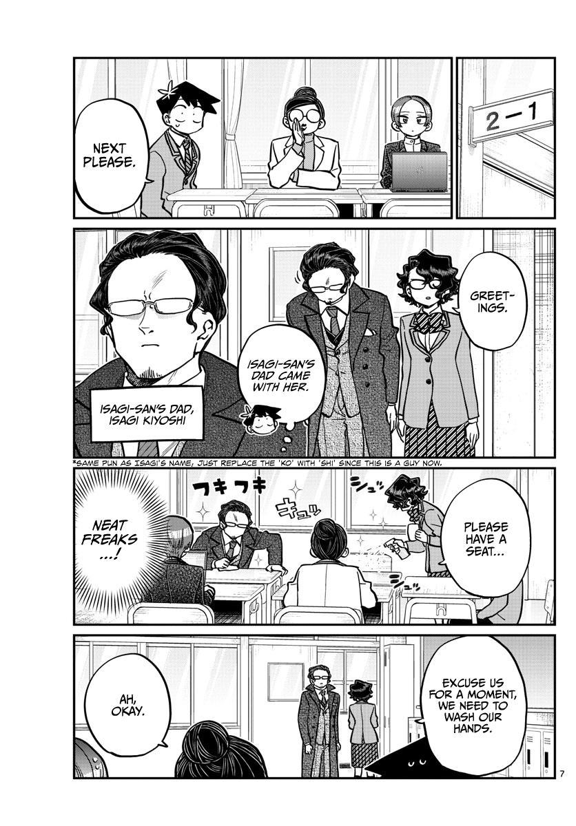 Komi-San Wa Komyushou Desu Chapter 256: Career Counseling page 7 - Mangakakalot