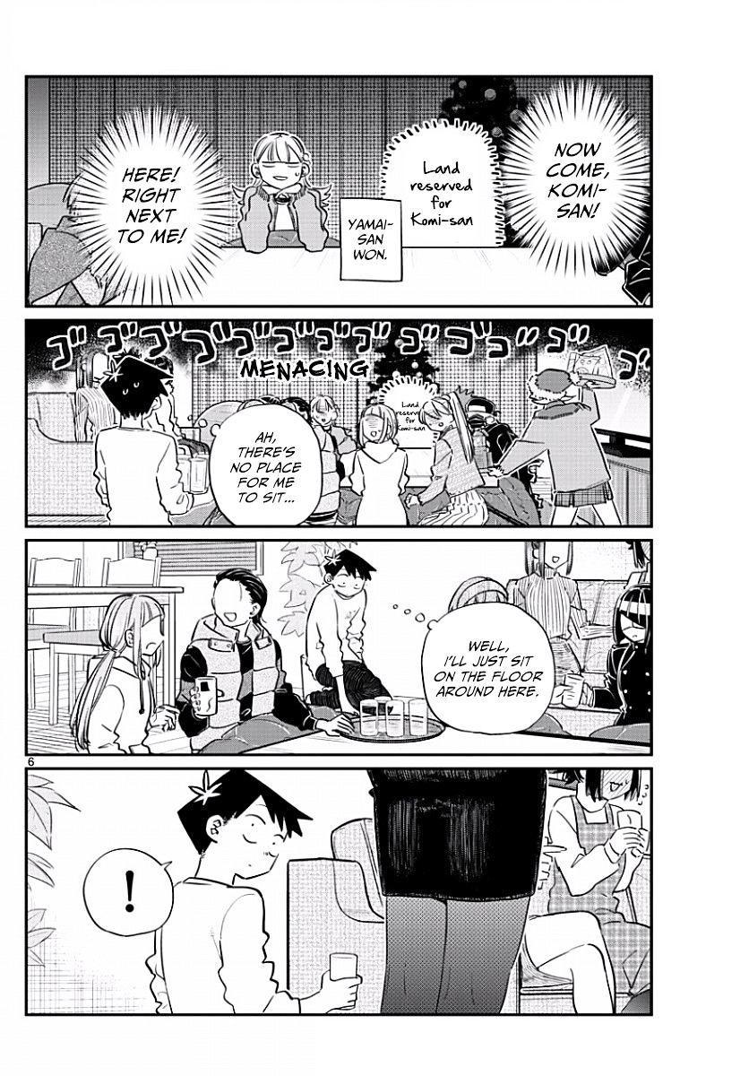 Komi-San Wa Komyushou Desu Vol.7 Chapter 97: Place To Sit page 6 - Mangakakalot
