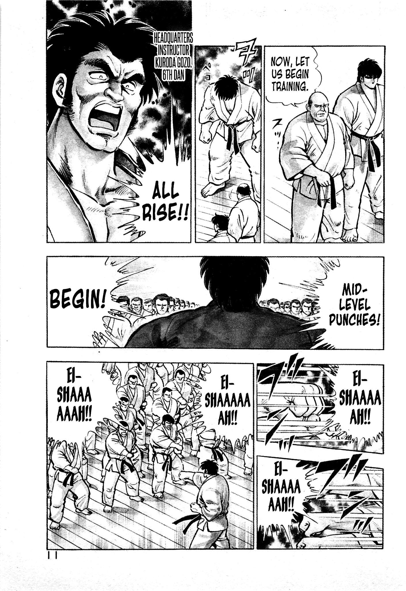 Karate Apocalypse Chapter 7: The Hand Of Evil page 11 - Mangakakalots.com