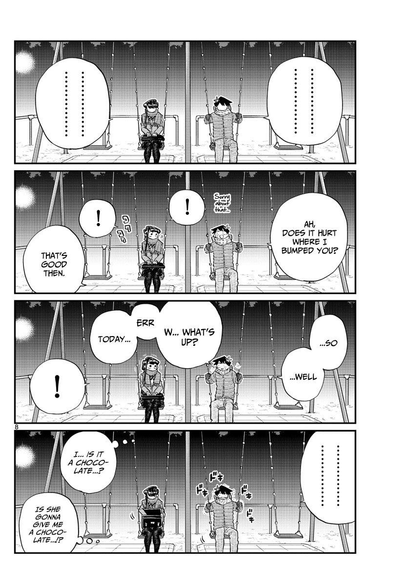 Komi-San Wa Komyushou Desu Vol.9 Chapter 118: Valentine's Day (2) page 8 - Mangakakalot