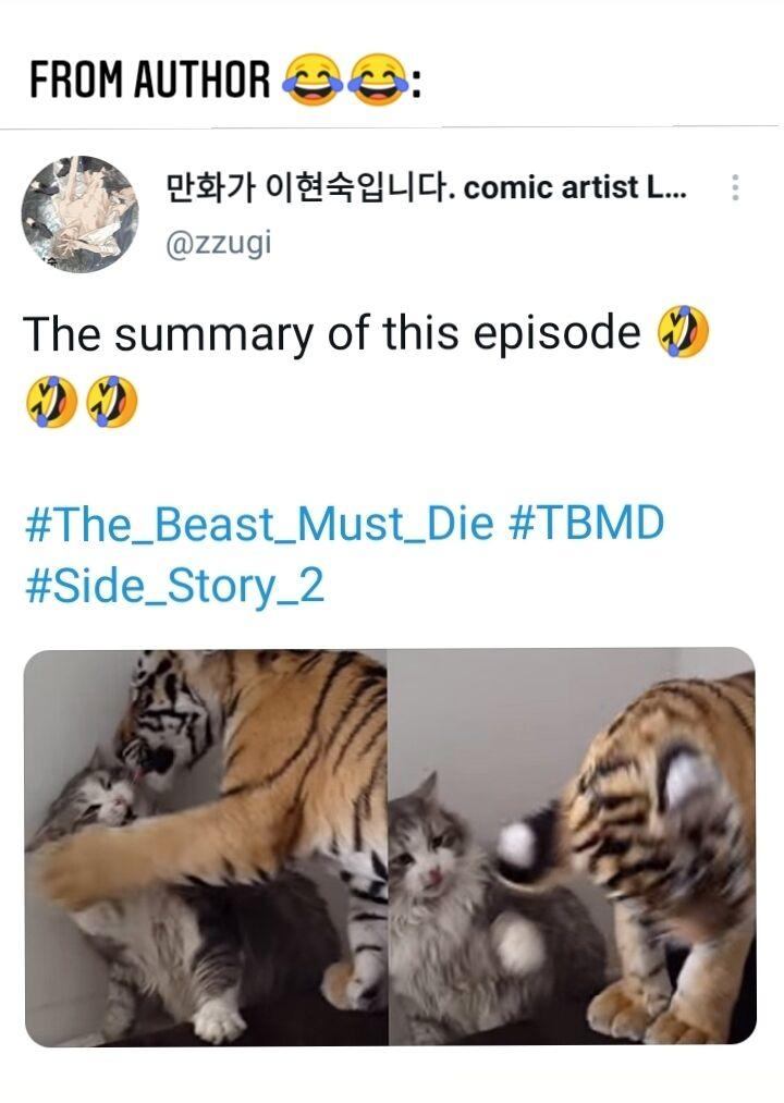The Beast Must Die Special Extra (3) page 12 - Mangakakalots.com