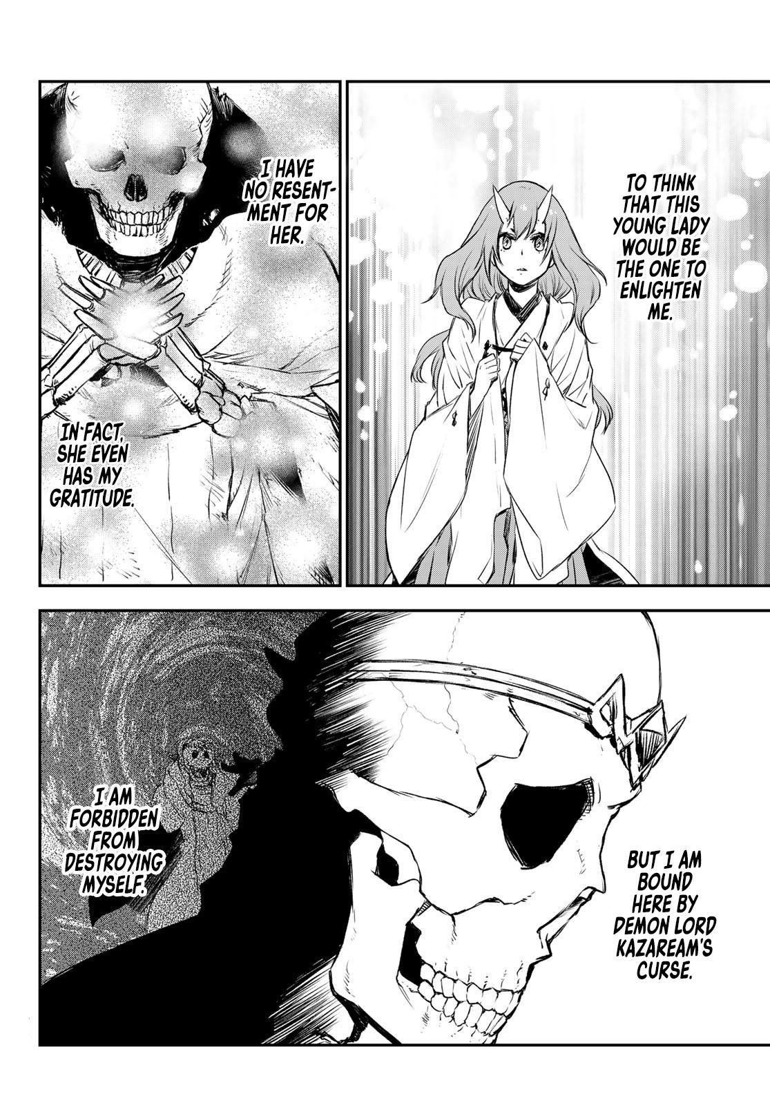 Tensei Shitara Slime Datta Ken Chapter 81: The Wight King page 56 - Mangakakalots.com