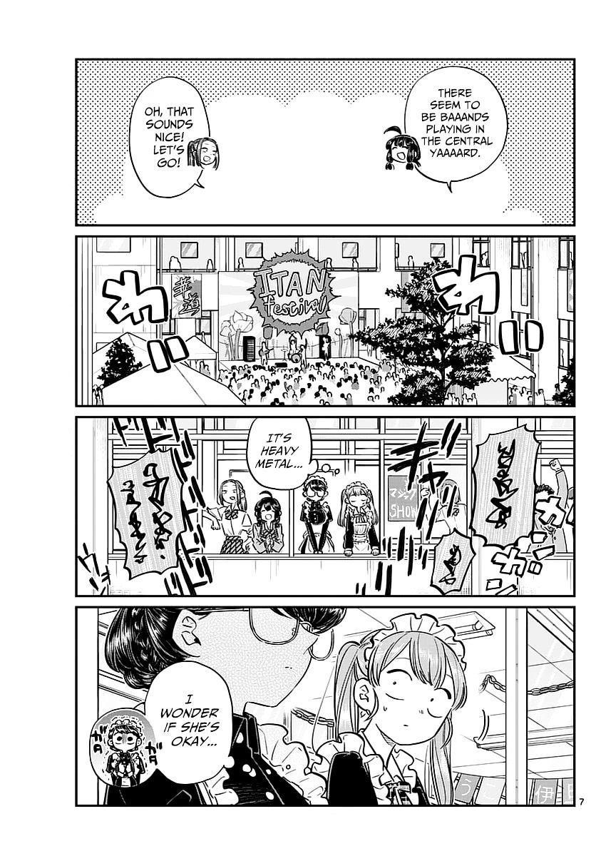 Komi-San Wa Komyushou Desu Vol.5 Chapter 71: The Cultural Festival 2 page 7 - Mangakakalot