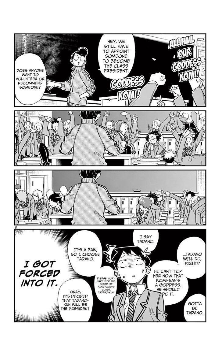 Komi-San Wa Komyushou Desu Vol.1 Chapter 17: Class Decision page 8 - Mangakakalot
