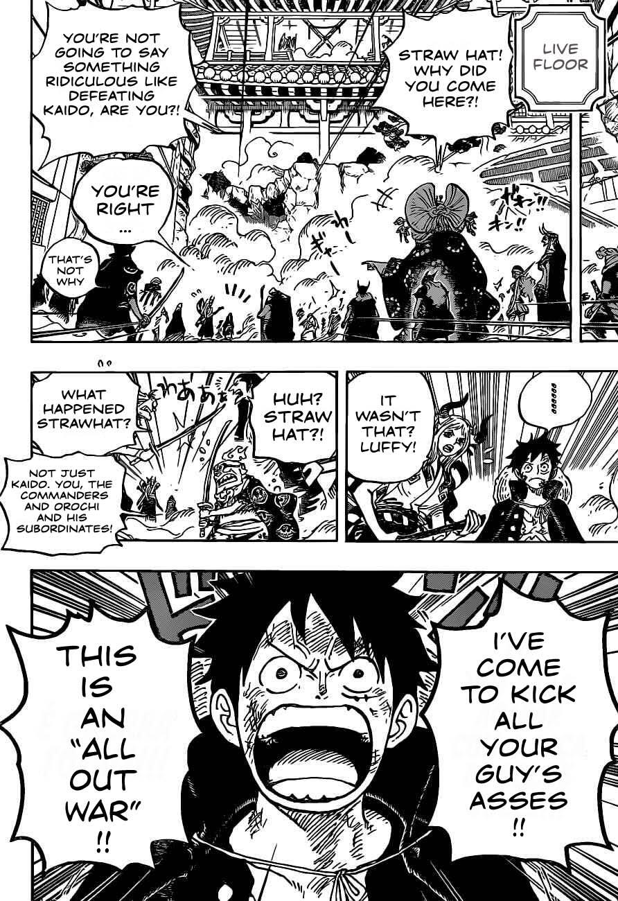 One Piece Chapter 987: Faithful Servant page 11 - Mangakakalots.com