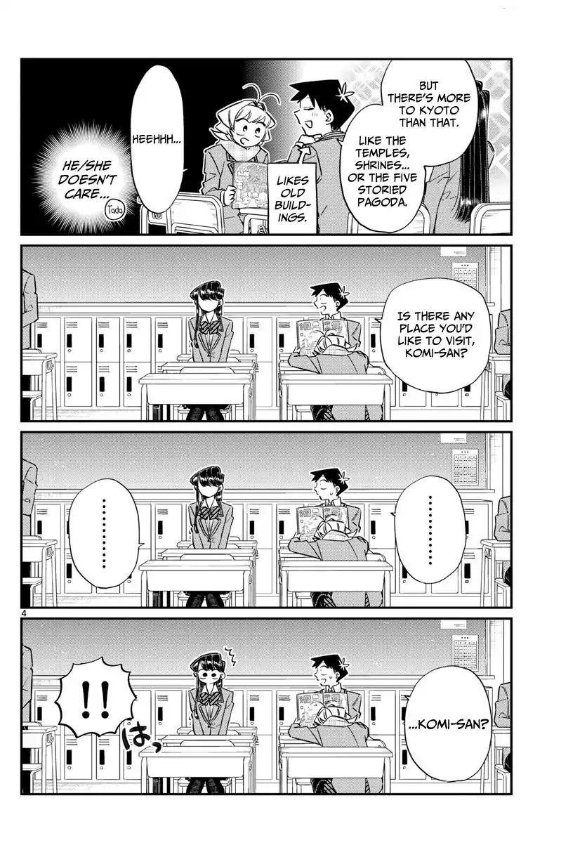 Komi-San Wa Komyushou Desu Vol.8 Chapter 103: Deciding The Groups For The Field Trip page 4 - Mangakakalot
