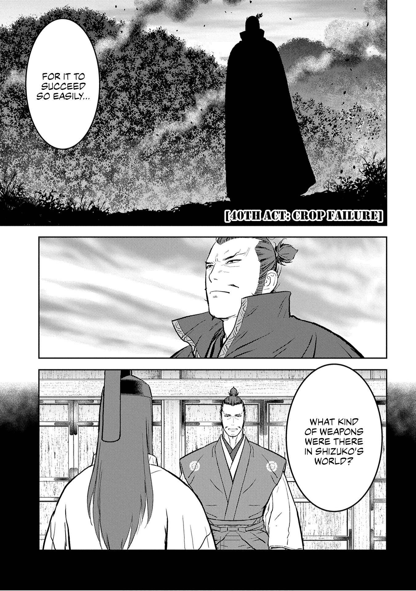 Sengoku Komachi Kurou Tan! Chapter 40 page 2 - Mangakakalots.com