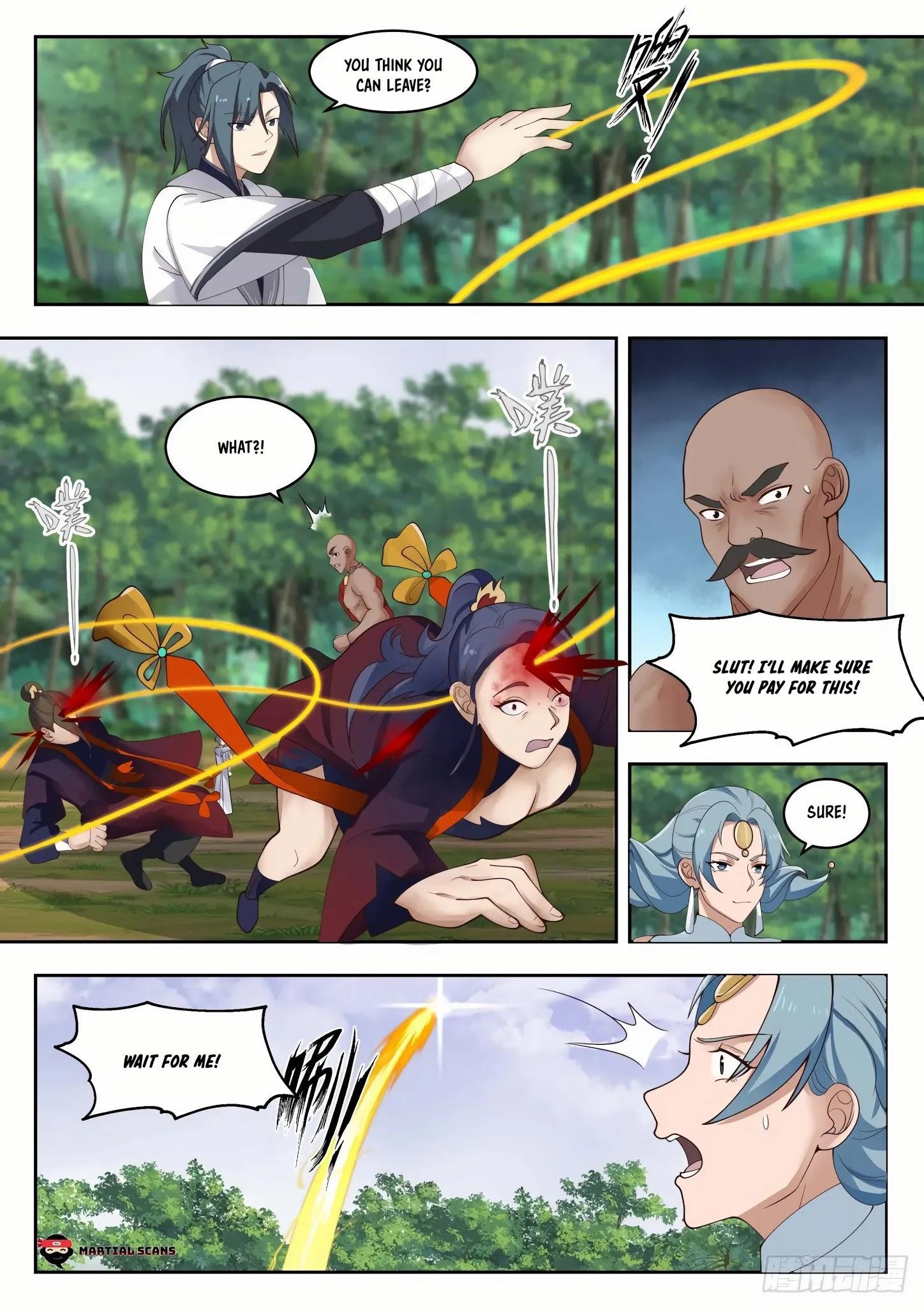 Martial Peak Chapter 1313: Heaven Scorching Thunder Fire page 12 - Mangakakalots.com