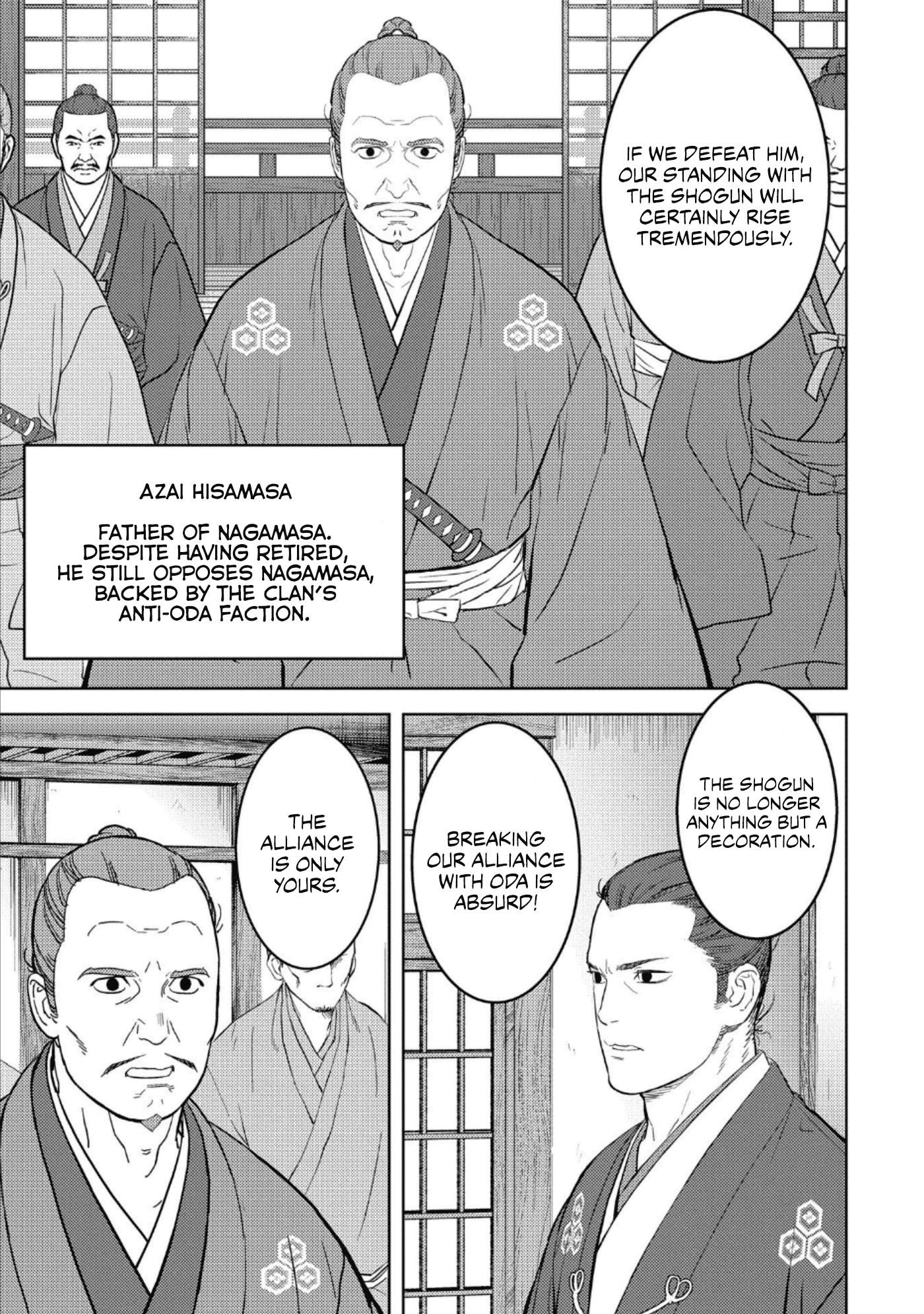 Sengoku Komachi Kurou Tan! Chapter 42 page 4 - Mangakakalots.com