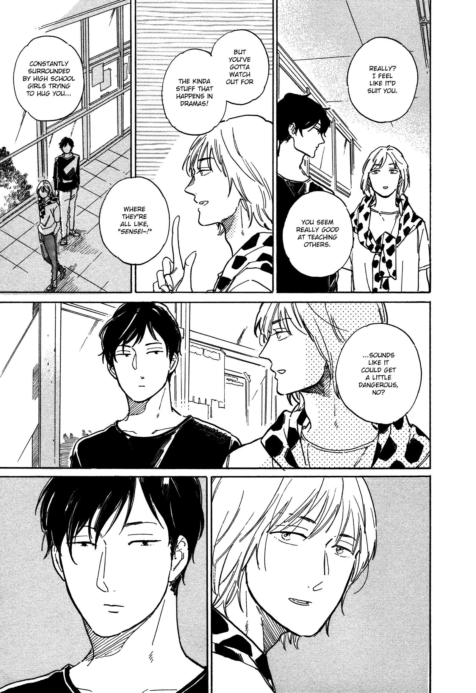 Stay Gold (Hideyoshico) Vol.4 Chapter 18 page 5 - Mangakakalots.com