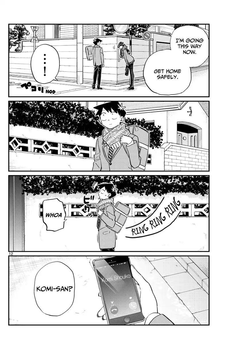 Komi-San Wa Komyushou Desu Vol.8 Chapter 103: Deciding The Groups For The Field Trip page 12 - Mangakakalot