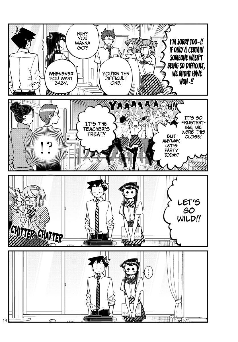 Komi-San Wa Komyushou Desu Chapter 213: Pat Pat page 2 - Mangakakalot