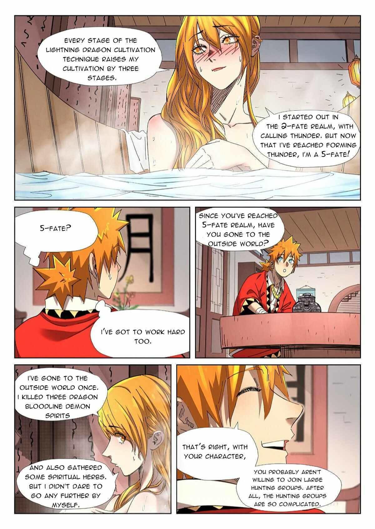 Tales Of Demons And Gods Chapter 343.5 page 4 - Mangakakalot