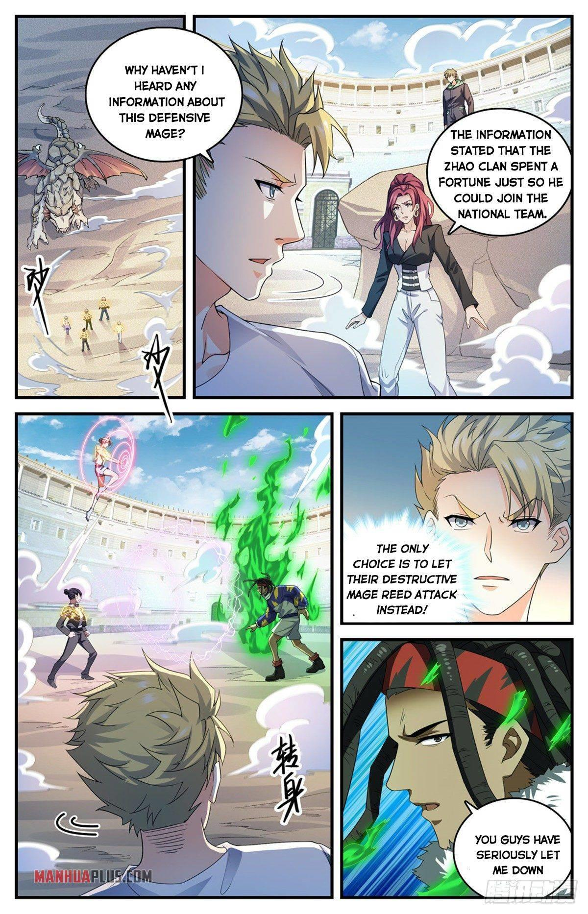 Versatile Mage Chapter 721 page 4 - Mangakakalots.com