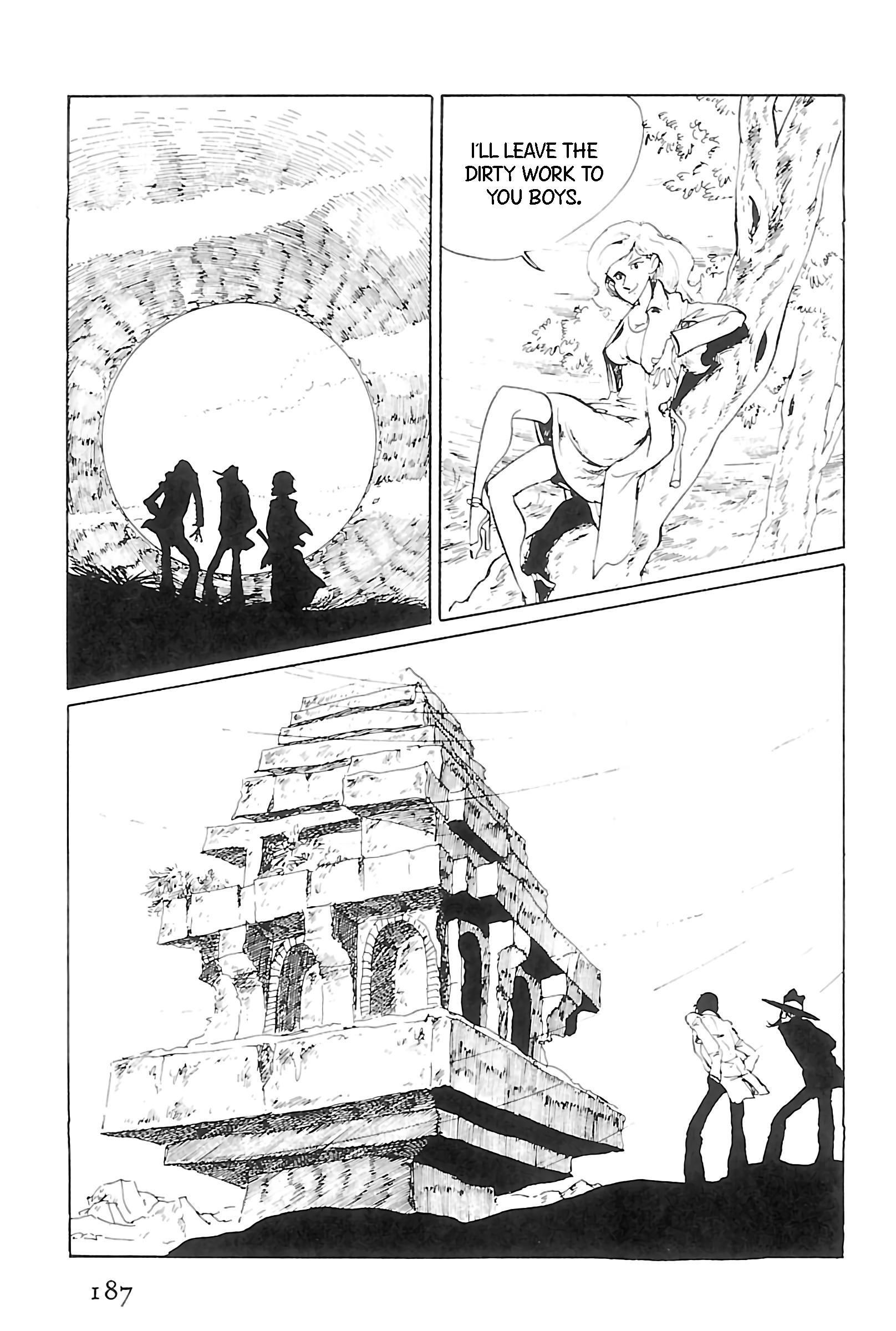 Lupin Iii: World'S Most Wanted Vol.11 Chapter 124: Happy New Year, Lupin! page 9 - Mangakakalots.com