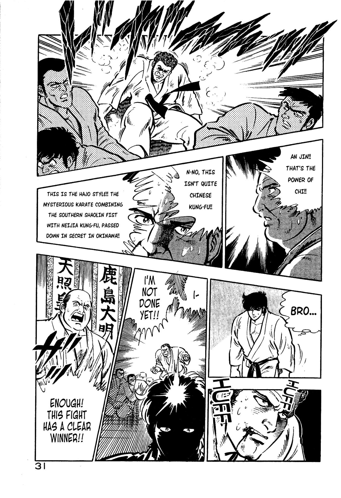 Karate Apocalypse Chapter 7: The Hand Of Evil page 30 - Mangakakalots.com
