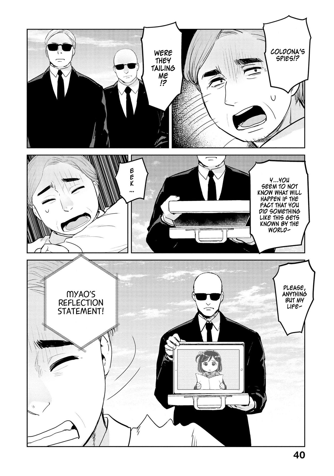 Oh, Our General Myao Vol.3 Chapter 28: In Which Myao Cares For Refugees page 8 - Mangakakalots.com