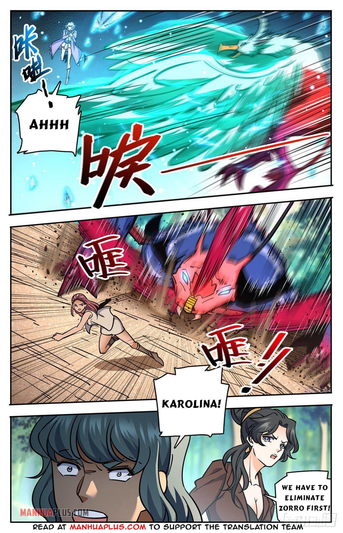 Versatile Mage Chapter 731 page 10 - Mangakakalots.com