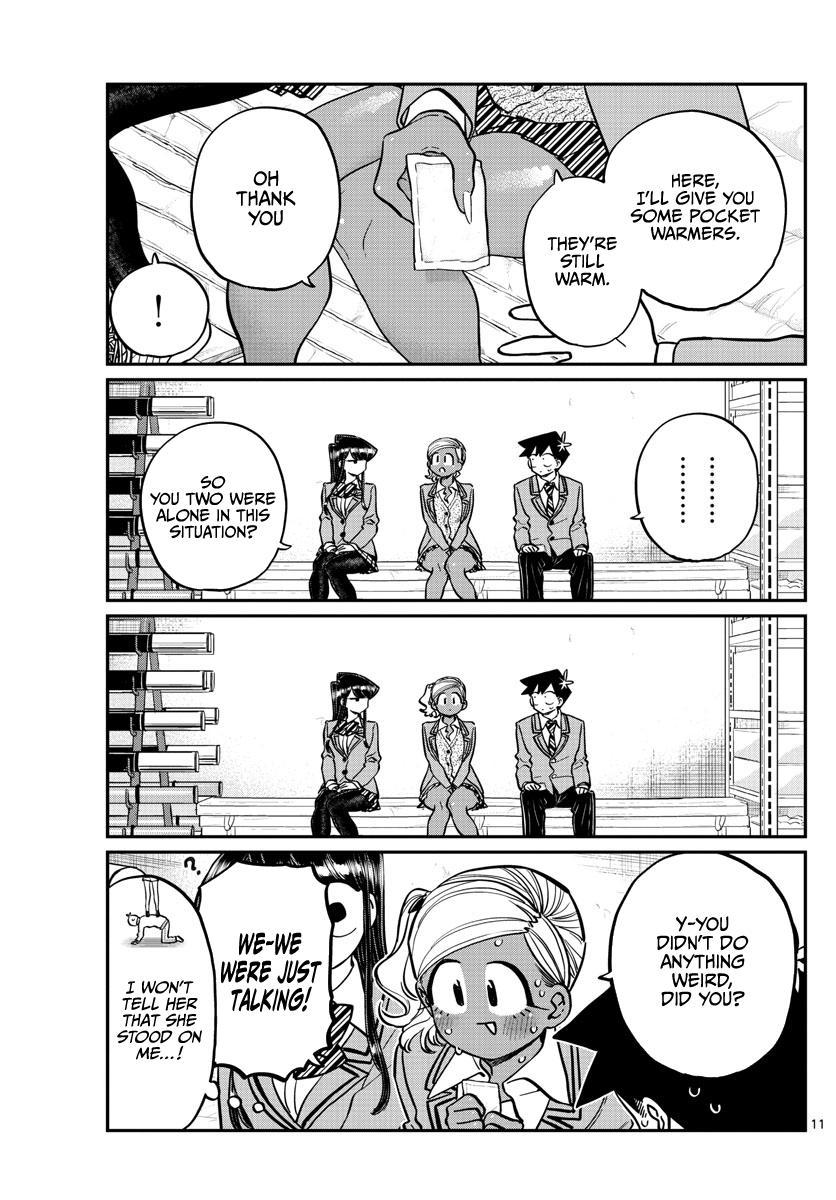 Komi-San Wa Komyushou Desu Chapter 255: Pocket Heater page 11 - Mangakakalot